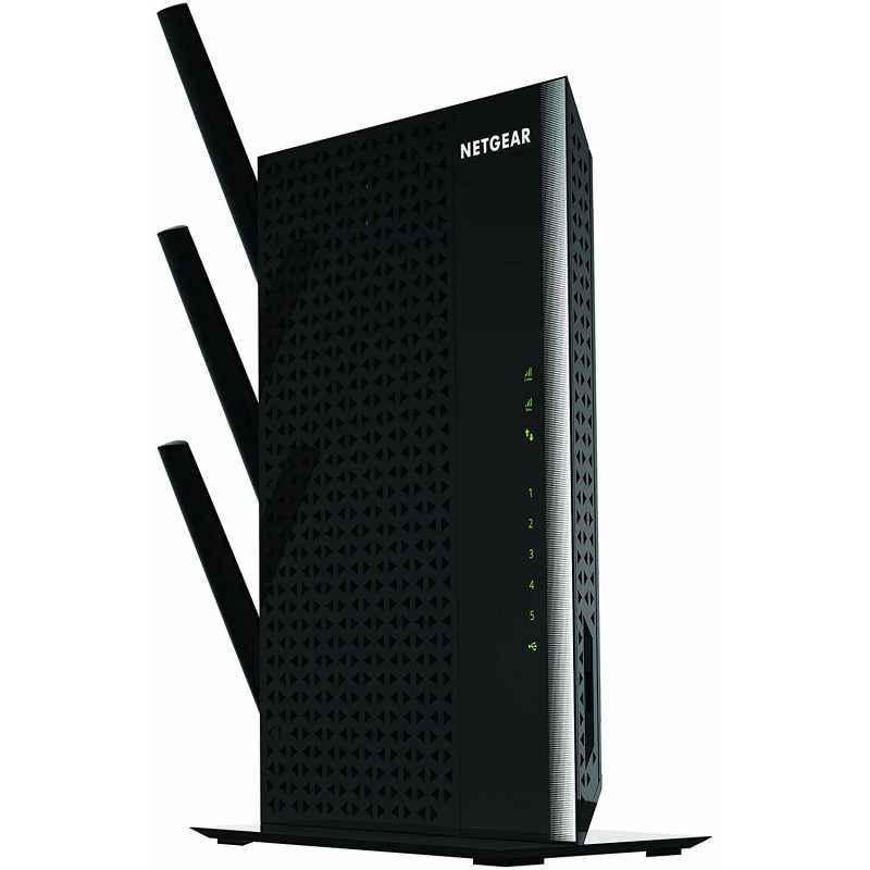 Netgear AC1900 NIghtHawk WiFi Range Extender with 4-Port, EX7000-100PES