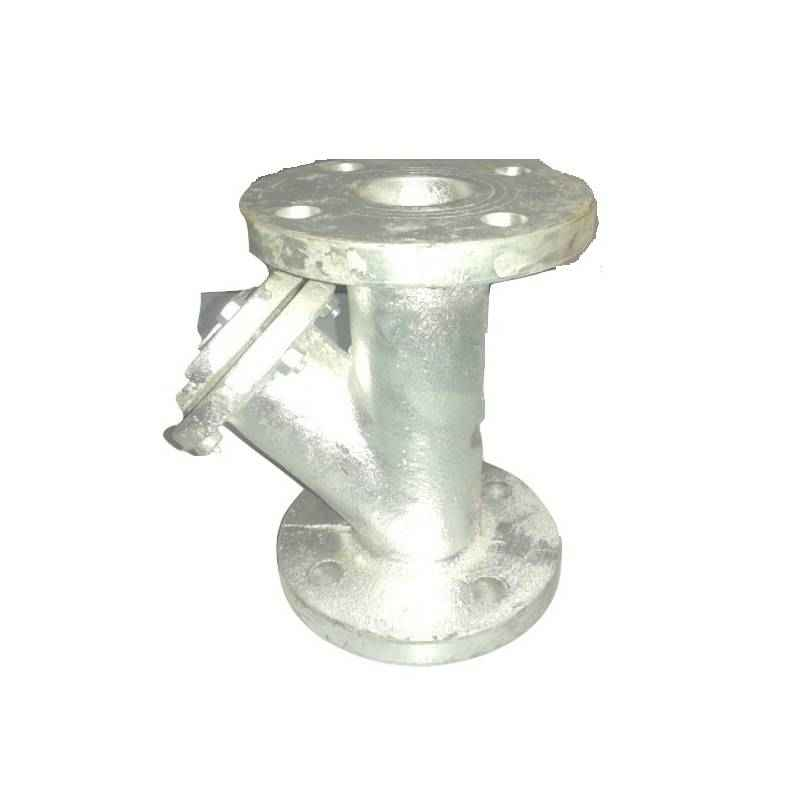 Crest Y Type CI Flanged End Strainer, MTC-53, Size: 65 mm