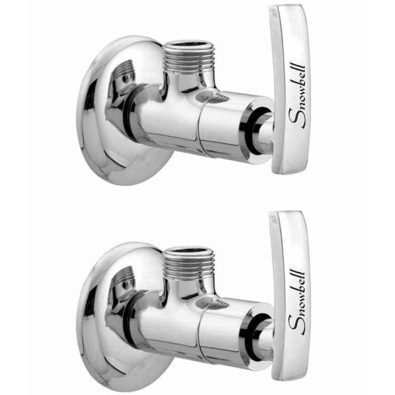 Snowbell Artize Brass Angle Faucet (Pack of 2)