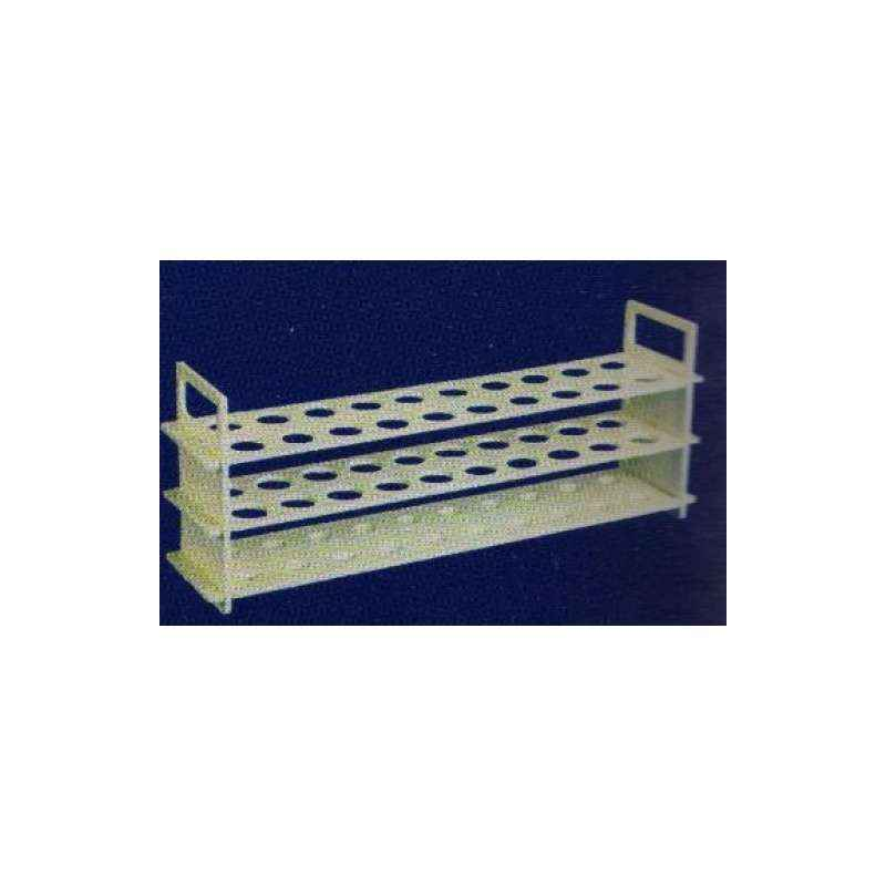 Jaico 40 Tubes 3-Tier Test Tube Stand, 1313 (Pack of 2)
