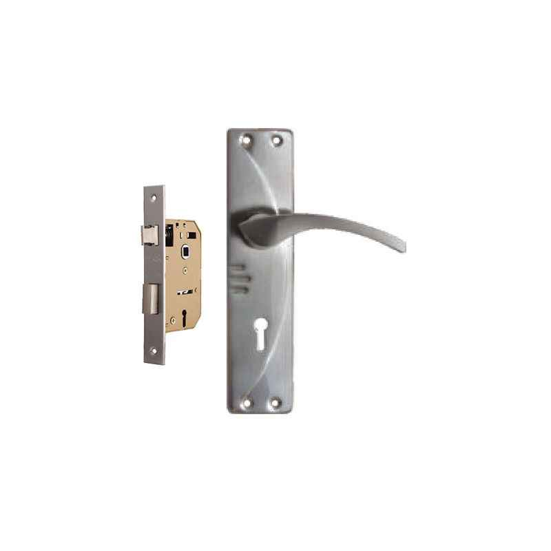 Plaza Neo SS Finish Handle with 65mm Mortice Lock & 3 Keys