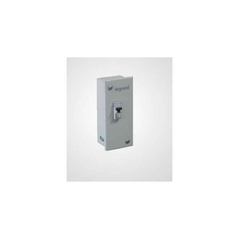 Legrand Ekinox 1 Module SP Metal Enclosure, 5077 90