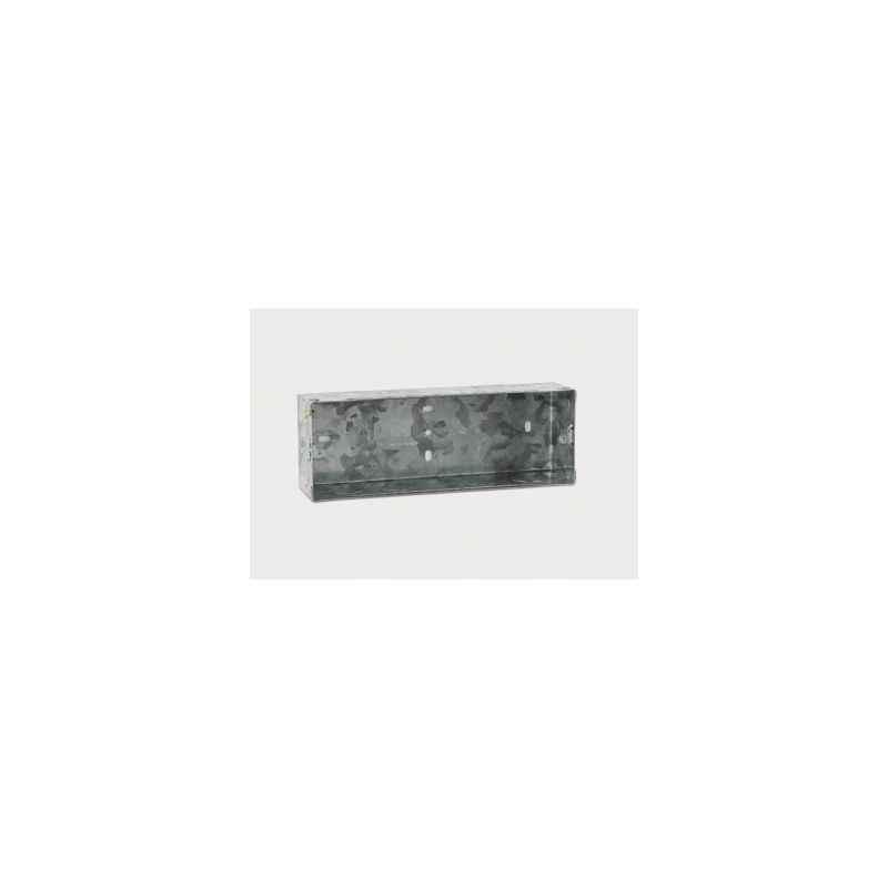 Legrand Arteor 6 Modules Metal Flush Mounting Box, 6890 10