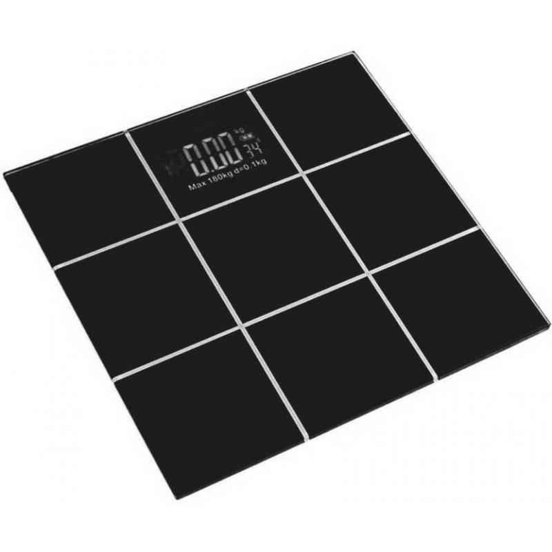Virgo 5-180kg Black CheckBox Glass Digital Weighing Scale, XBCB-180