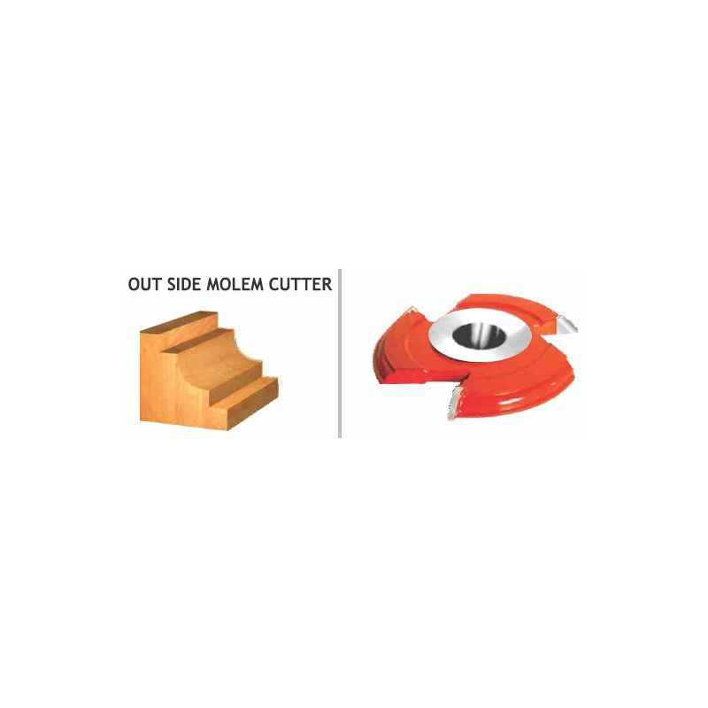 Perfect Out Side Molem Cutter, Item Code: 870(Pack Of 10)
