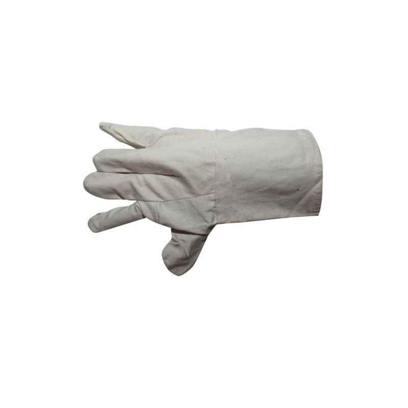 Siddhivinayak 11 Inch Cotton Hand Gloves (Pack of 100)