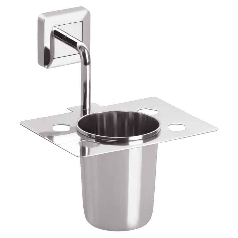 Abyss ABDY-0692 Glossy Finish Stainless Steel Tooth Brush Holder