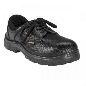 Agarson Power Steel Toe Black Safety Shoes, Size: 9