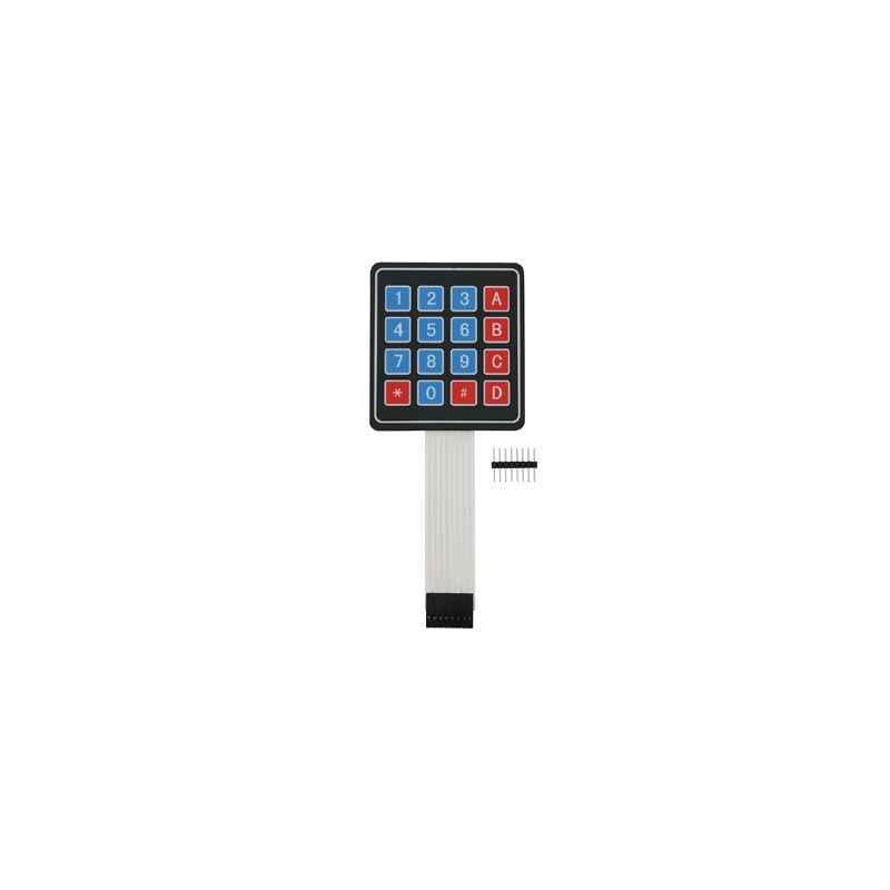 Techtonics 4x4 Switch 16 Arduino Keypad Keyboard, TECH1149 (Pack of 2)