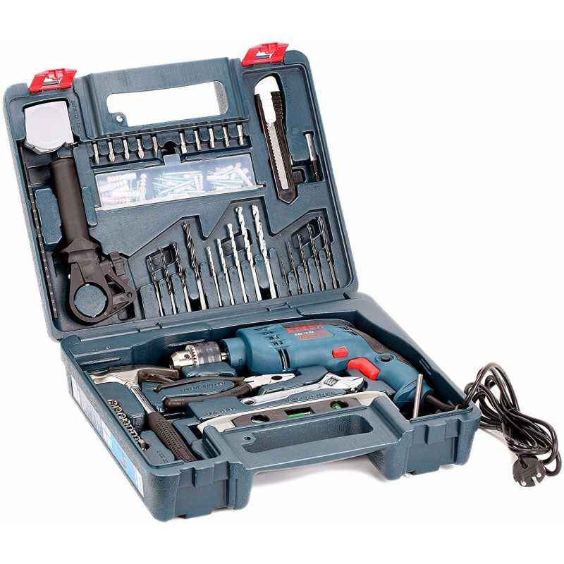 Bosch 13mm 600W Impact Drill Kit, GSB 13 RE