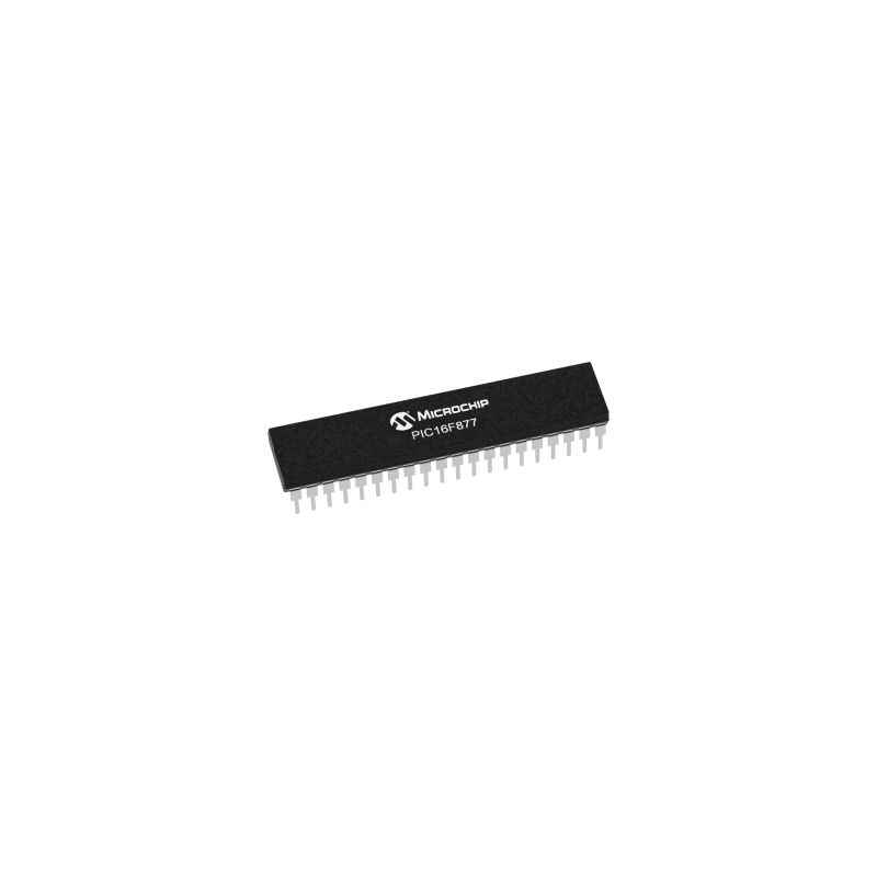 Microchip PIC 16F877 I/P 40 Pin Microcontroller Integrated Circuit