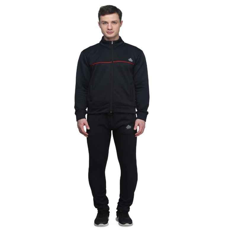 Abloom 141 Black & Red Tracksuit, Size: M