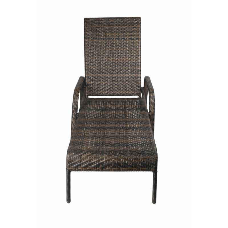 Ventura VF A27 Black & Brown Lounge Chair