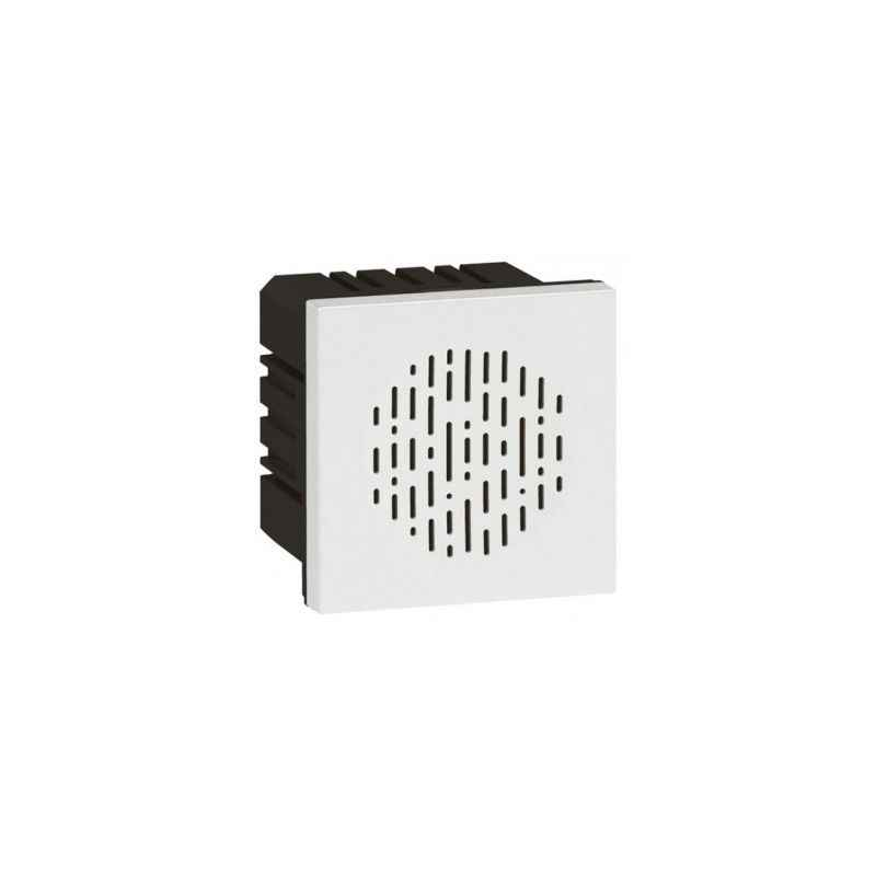 Legrand Arteor 6A 1 Way SP Square White Bell Call Indicator With Registor, 5734 15