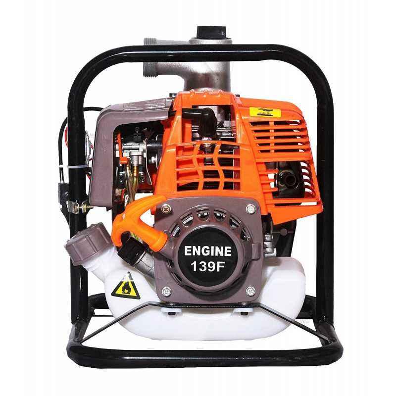 Neptune 1HP 35.8cc 4 Stroke Red Petrol Engine Water Pump