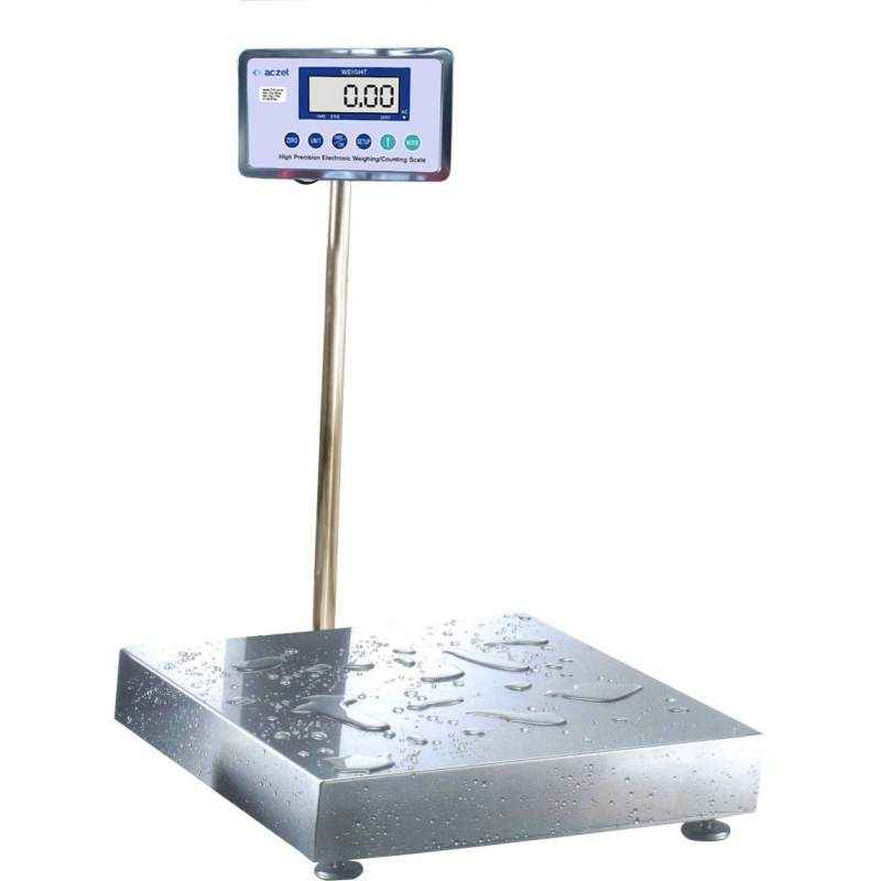 Aczet CTG 500S Stainless Steel Platform Scale, Capacity: 500 kg