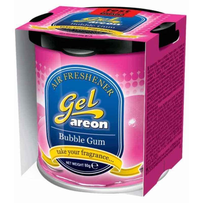 Areon 80g Bubble Gum Gel Air Freshener for Car
