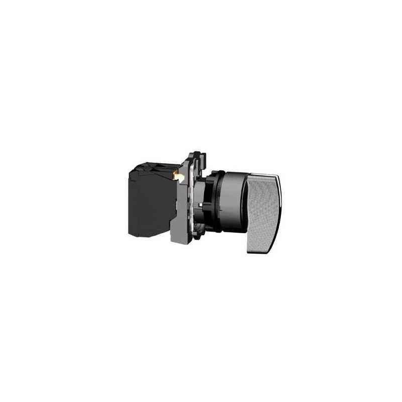 Schneider 1NO Black Non Illuminated Selector Switch, XB5AJ53N