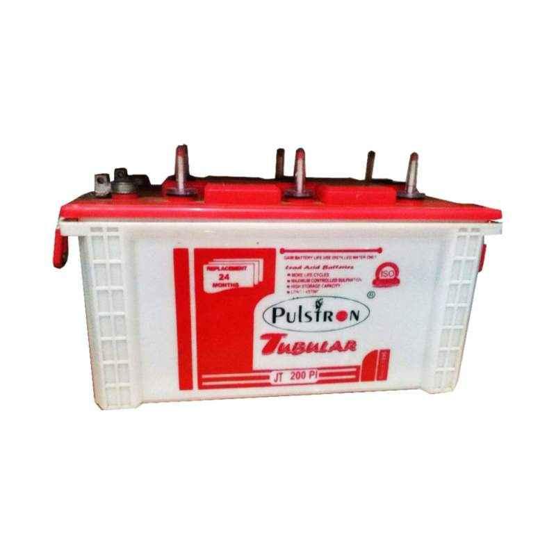 Pulstron 12V 200Ah Long Life Jumbo Tubular Inverter Battery JT-200PI