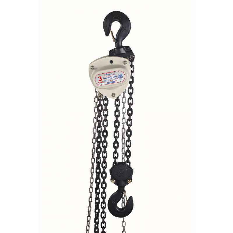 Kepro Plus ISI Marked 2 Ton 3m Lift Chain Pulley Block, KP020103