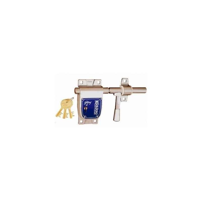 Godrej 6 Lever Kadi Tala with 3 Keys, 5093