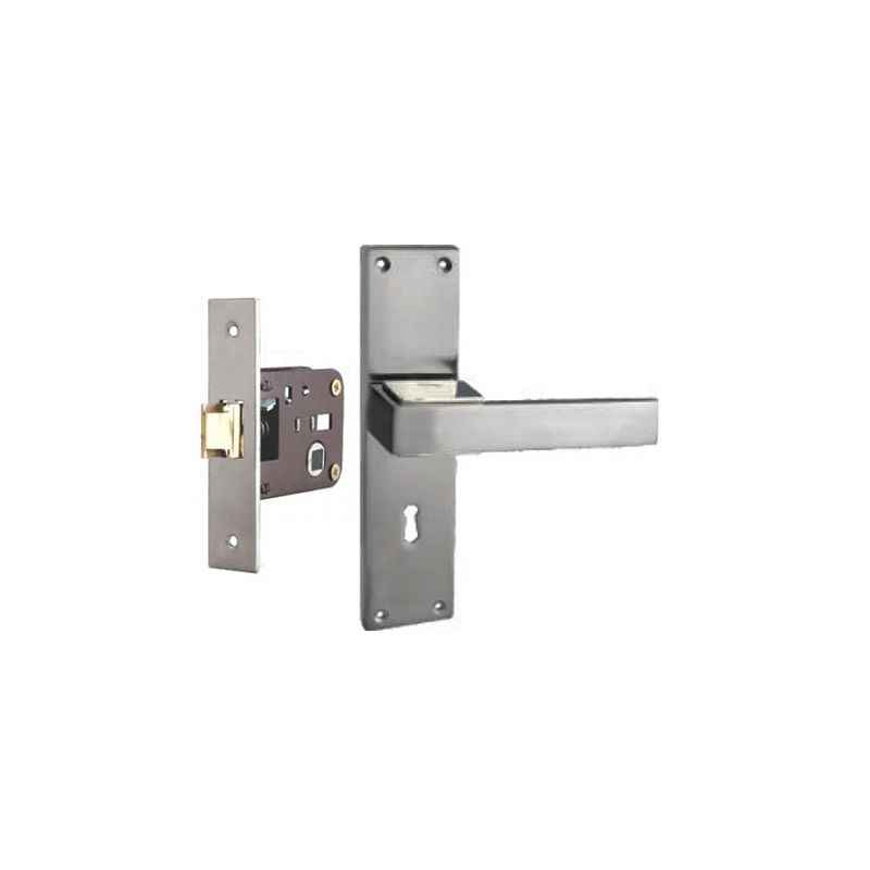 Plaza Aspire Stainless Steel Finish Handle with 200mm Baby Latch Keyless Lock