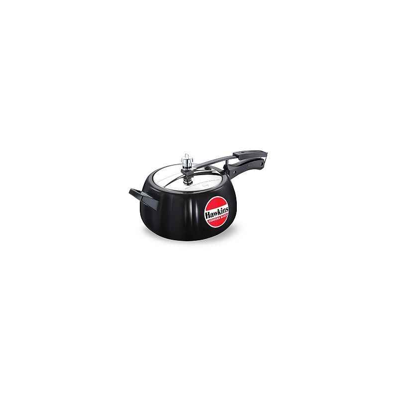 Hawkins Contura Black 5 Litre Pressure Cooker, CB50
