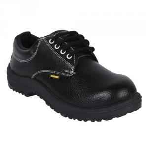 Prima PSF-21 Classic Steel Toe Black Safety Shoes, Size: 7