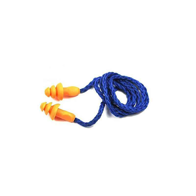 3M Reusable Orange Corded Ear Plug, 1270
