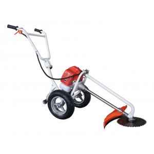Neptune 43cc 1.95 HP 2 stroke Heavy Duty Petrol Hand Grass Cutter with Wheels and Brush, BC-520W