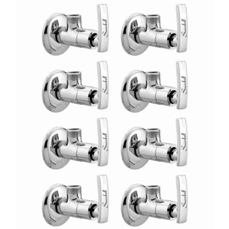 Snowbell Artize Brass Angle Faucet (Pack of 8)