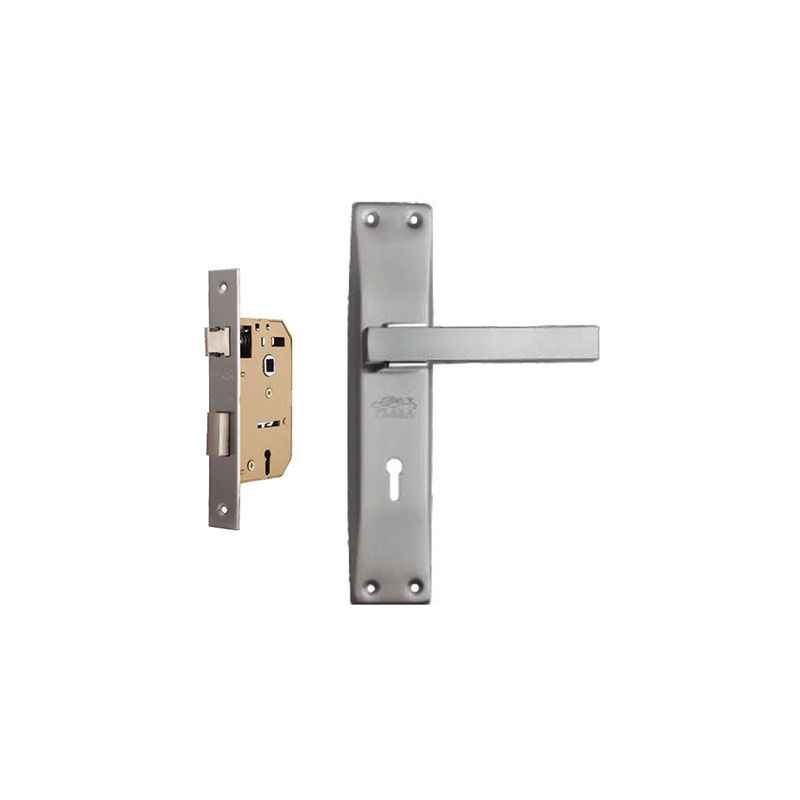 Plaza Icon Stainless Steel Handle with 65mm Mortice Lock & 3 Keys