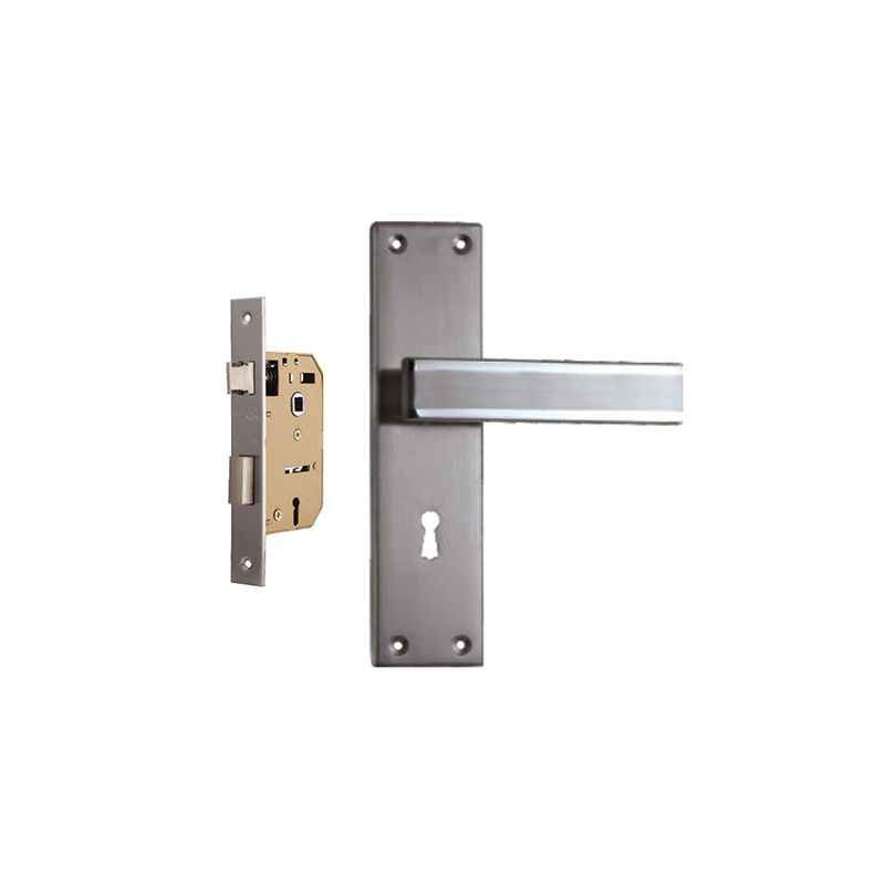 Plaza Volt Stainless Steel Handle with 65mm Mortice Lock & 3 Keys