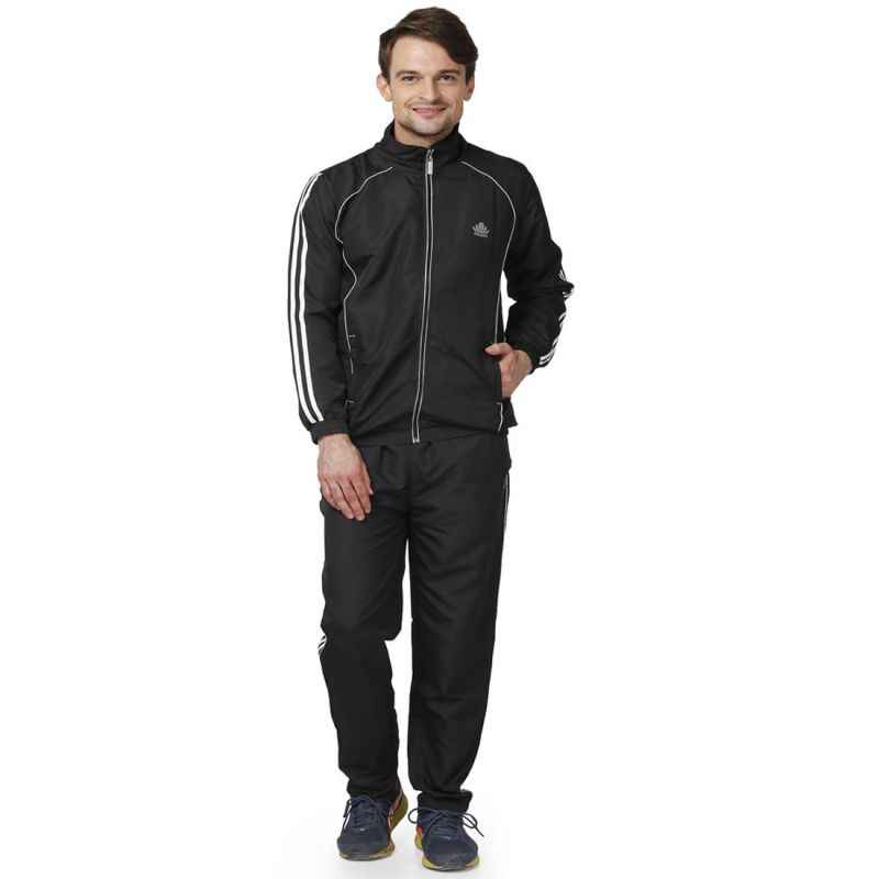Abloom 128 Black & White Tracksuit, Size: S