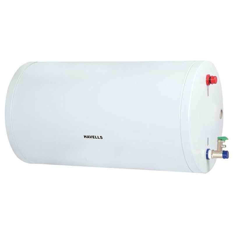 Havells 25L 4S White Monza Slim Storage Water Heater, GHWBMDSWH025