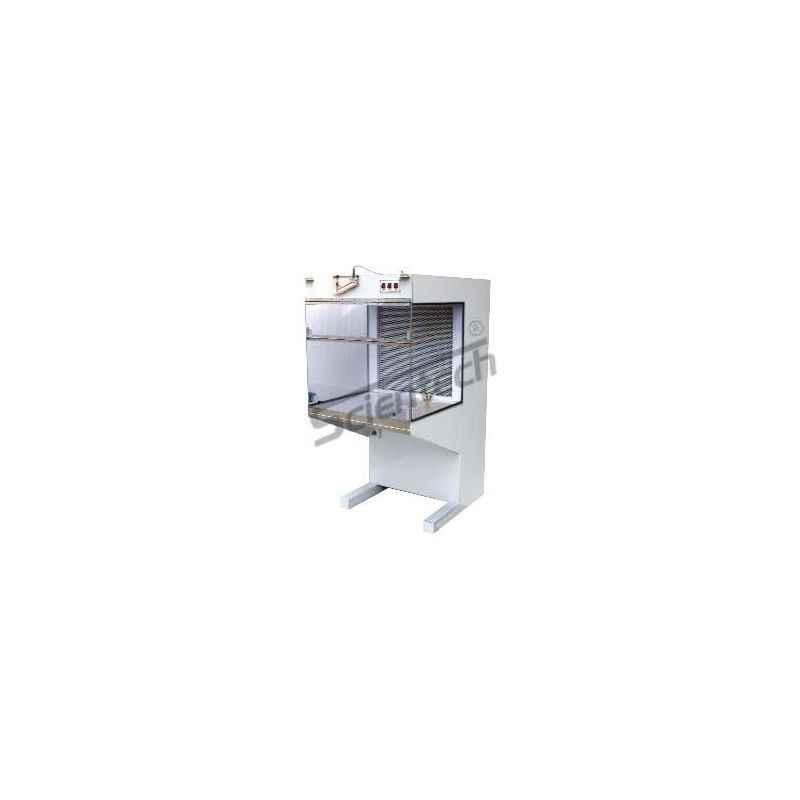Scientech SH-32 Stainless Steel Horizontal Laminar Air Flow Cabinet, 3x2x2 Feet, SE-113
