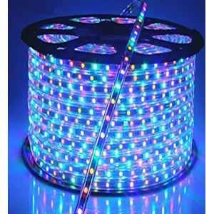 VRCT Classical 4.9m Multi Colour Waterproof SMD Strip Light with Adaptor, MultiColorSMD 4.9