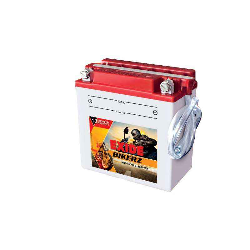 Exide 14 Ah Bikerz Battery, DBI0-12BI14L-A2