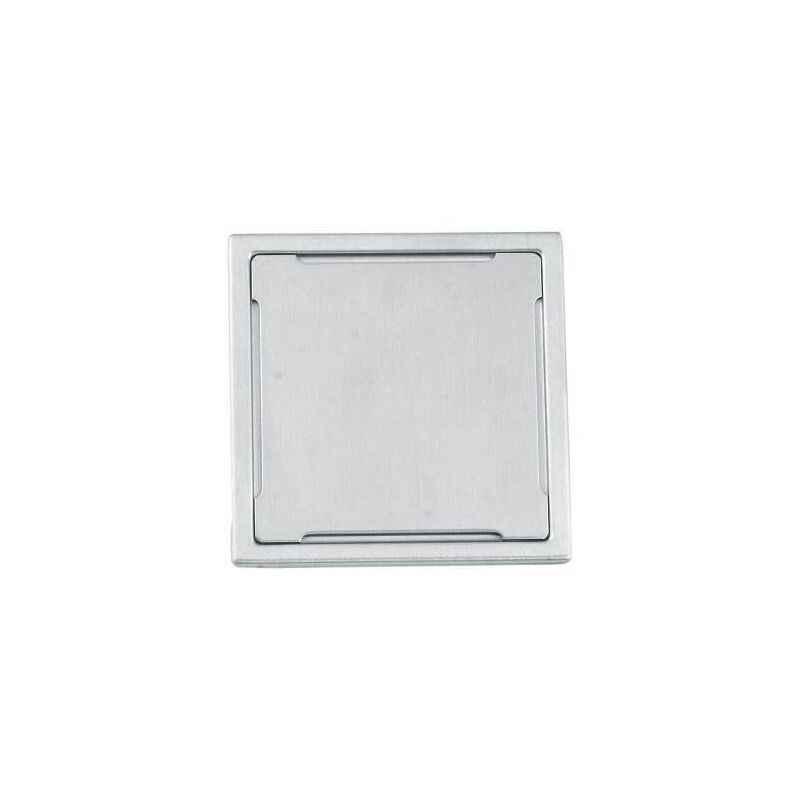Kamal 5x5 Inch Omega Stainless Steel Floor Grating, GRT-1443