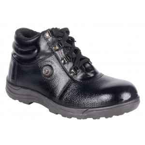Four Star FR-002(M2) Steel Toe Low Ankle Safety Shoes, Size: 6