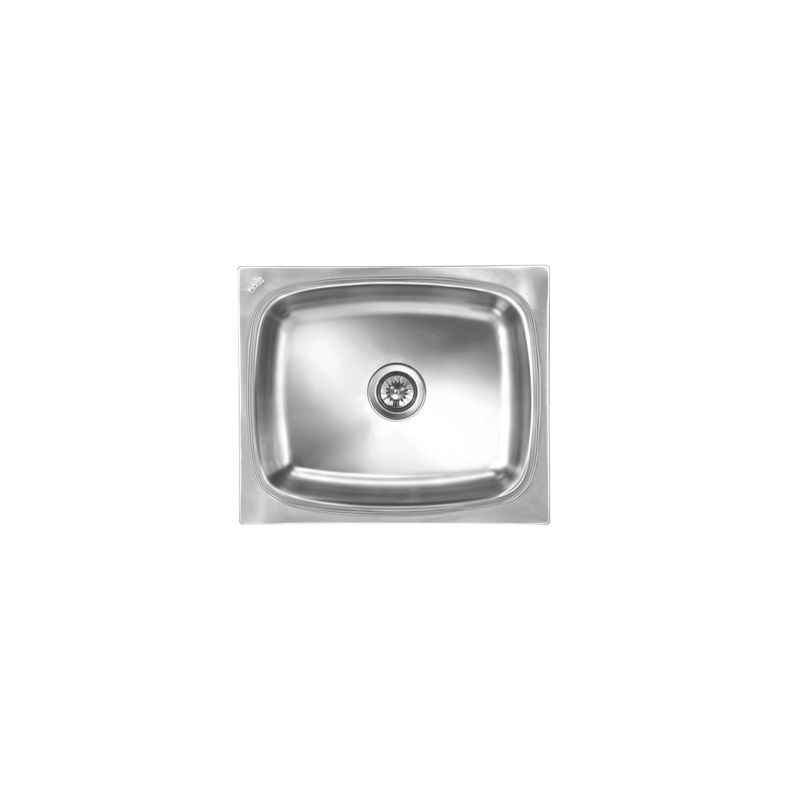 Nirali Grace Deluxe Satin Finish Kitchen Sink, Size: 535x460 mm