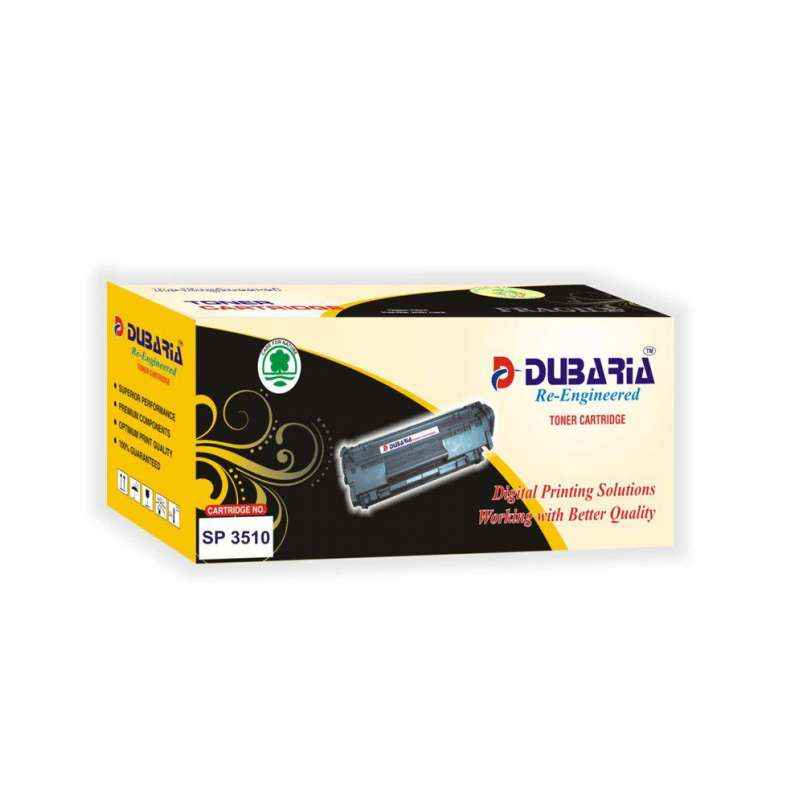 Dubaria SP 3510 Black Toner Cartridge For Ricoh Printers