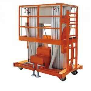 Nido 12 Meter Dual Mast Aluminium Work Platform, ND-AWP-M-10 (II)