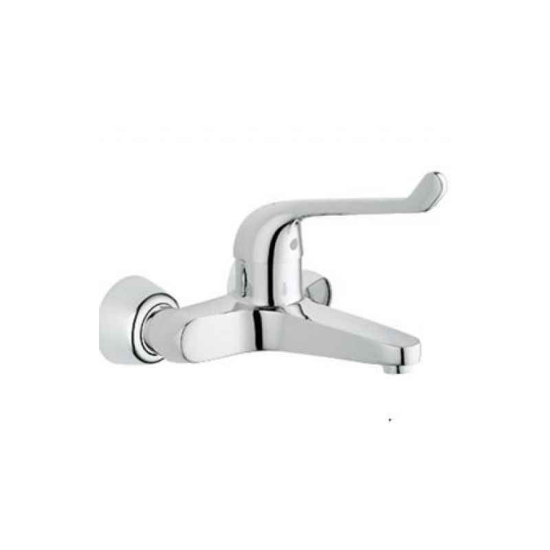 Marc Solitaire Single Lever Wall Mounted Basin Mixer, MSO-2240