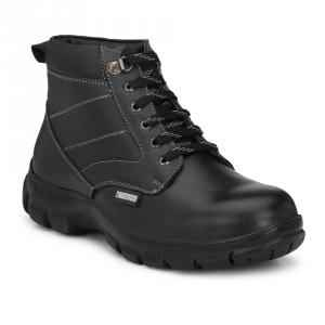 Timberwood TW33 Steel Toe Black Safety Shoes, Size: 6