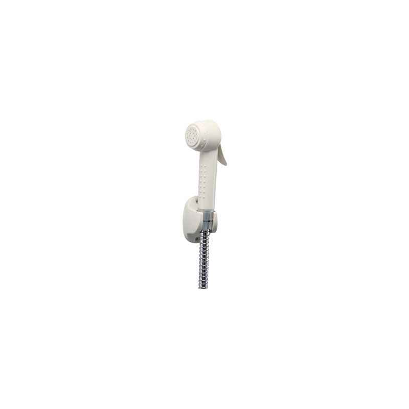 Hindware Shower Health Faucet Abs Ss Braided Hose 1M (IV Hook)