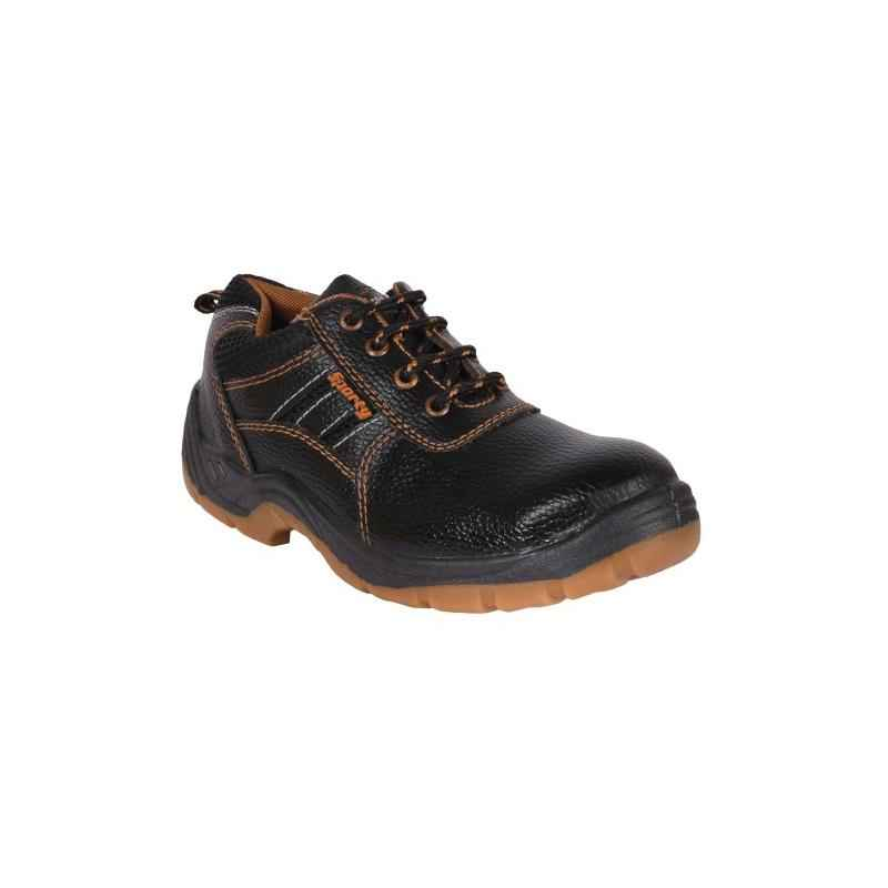 Hillson Sporty Steel Toe Black Safety Shoes, Size: 9