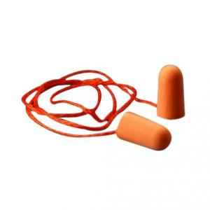 3M 29dB Corded Foam Orange Ear Plugs, 1110 (Pack of 100)