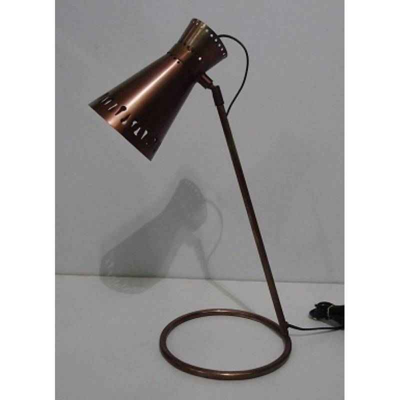 The Brighter Side Atlas Copper Table Lamp