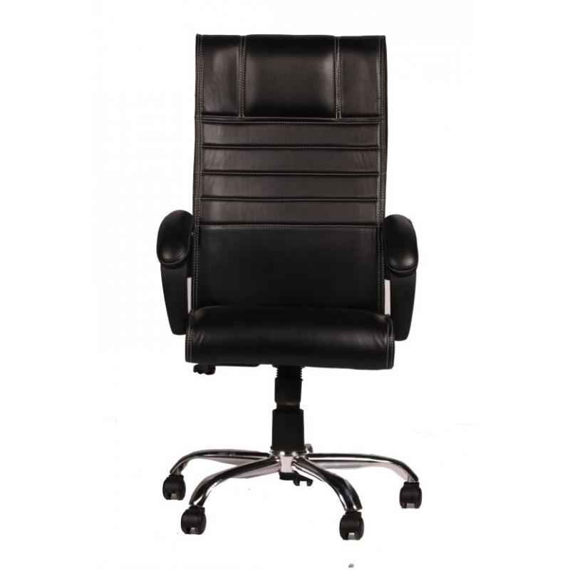 Mezonite Black High Back Synthetic Leatherette Office Executive Chair